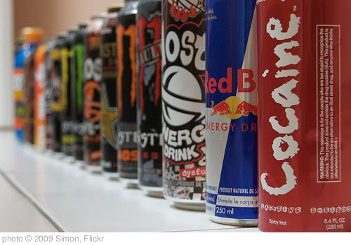 'Energy drinks' photo (c) 2009, Simon - license: http://creativecommons.org/licenses/by-sa/2.0/