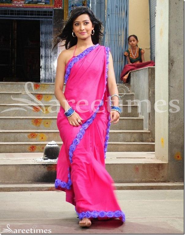 Radhika_Pandit_Pink_Saree