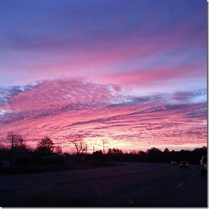 2012-12-29 1 God paints sunrise