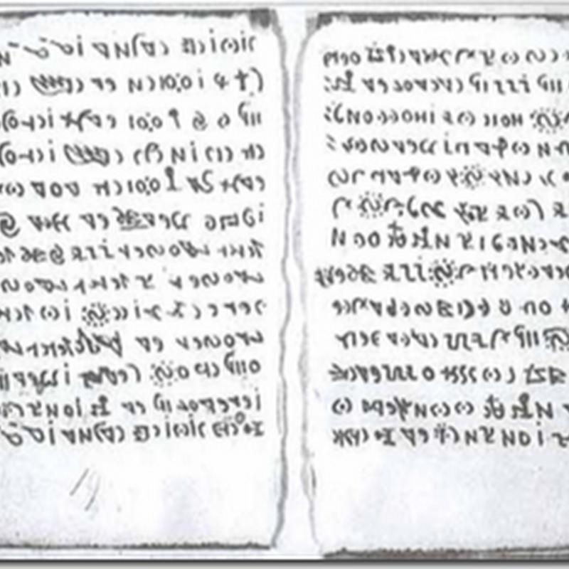Treze misteriosas inscrições antigas ainda não decifradas