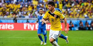 Colombie – James Rodriguez : «J'ai élevé mon niveau de jeu»