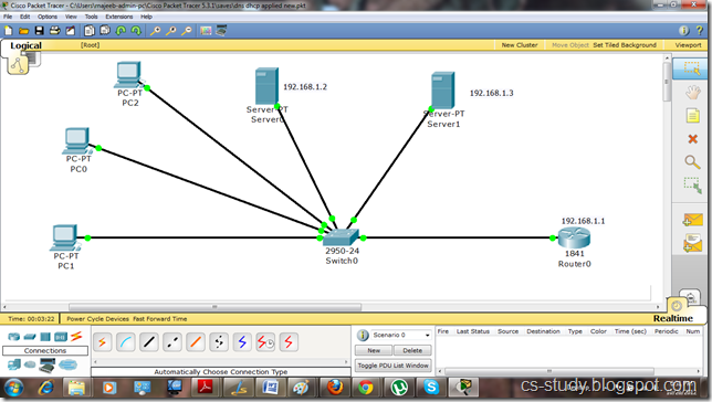 dns on packet tracer easy learning