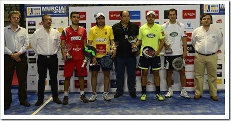 Martín Díaz y Belasteguin campeones en la 1ª Prueba del World Padel Tour en Murcia. Crónica Semifinales y Final.