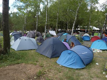 Camping Ungaria: corturi la Sziget
