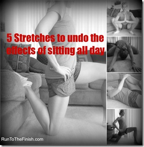 Hip Opening Stretches to undo the effects of sitting all day