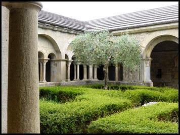 v cloister garden