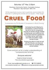 Cruel Food Poster