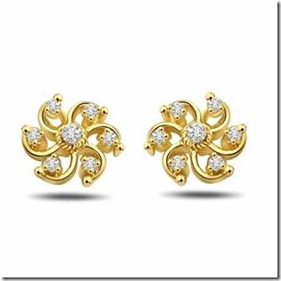 flower earring designs