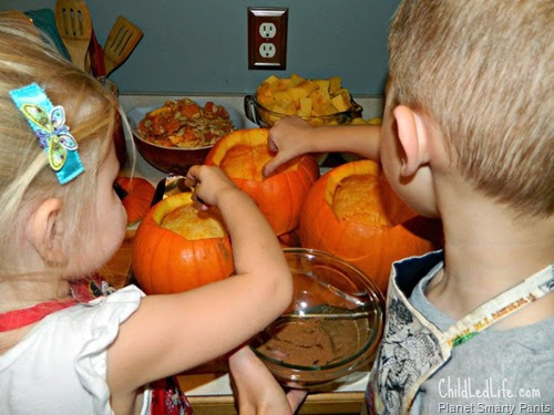 Pumpkin Soup from Child Led Life
