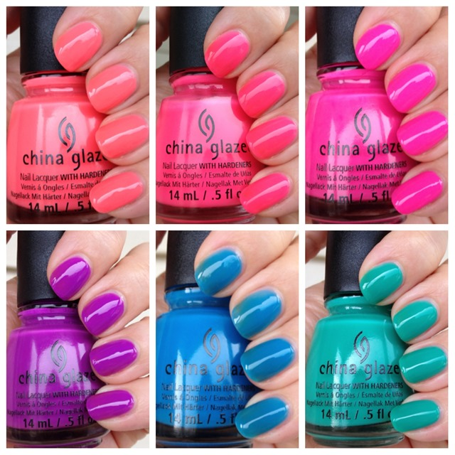 China Glaze Sunsational - The Jellies