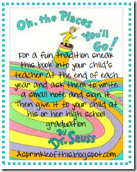 Dr. Seuss Gift Tag {A Sprinkle of This . . . . A Dash of That}