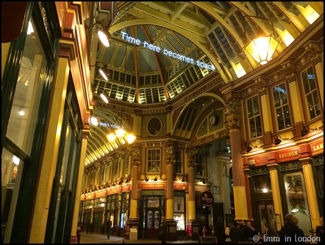 Leadenhall Market - Time Here Becomes Space