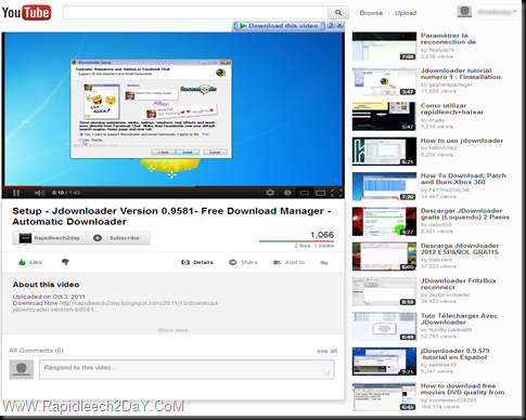How to Enable/Get New YouTube Video Page Layout/Design Today 2012