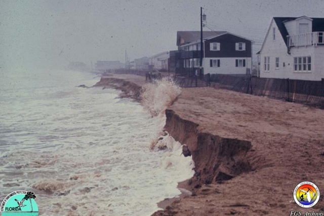 Coastal erosion in Florida. Florida Geological Survey