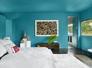 decoracion-pintura-verde-parde-habitacion
