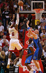 lebron james nba 130102 mia vs dal 07 King James Debuts LBJ X Portland PE But Ends Scoring Streak