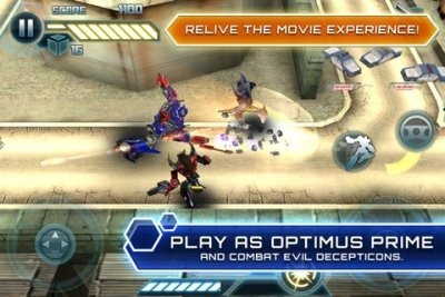 แจก Transformers 3 game for iPhone/iPod Touch v1.0.0