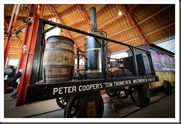 "Peter Cooper's ""Tom Thumb"" replica"