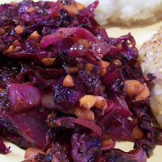 Purple Cabbage and Carrot Saute (Low Carb)