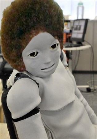 Adina Fluffy Robot 2