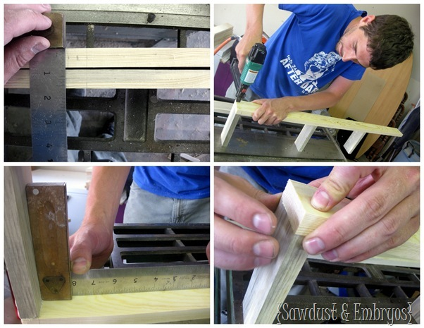 Building Custom Floating Shelves {Sawdust and Embryos}