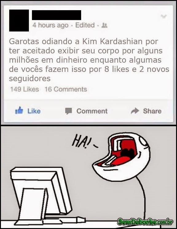 ODIANDO A KIM KARDASHIAN!