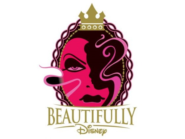 walt disney world makeup collection wickedly beautiful logo