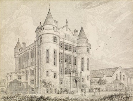 Teviot_Row_House,_Edinburgh,_pen_drawing,_c1888