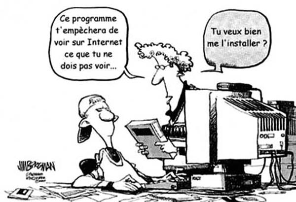 Navigation internet sécurisée pour les enfants