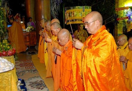Video và hình ảnh lễ tang Hòa thượng Thích Minh Châu ngày 08/09
