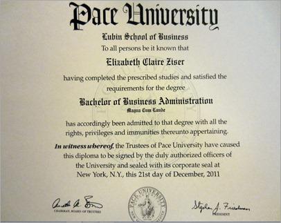 Liz diploma