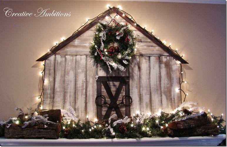 Christmas Barn 3