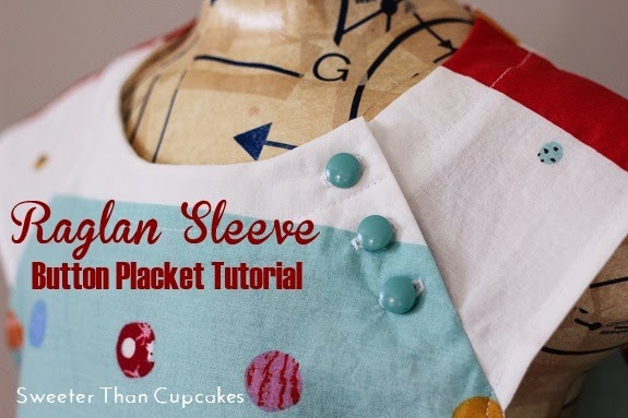 Raglan Button Placket
