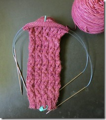 Sunshine Sock - Heel Turn