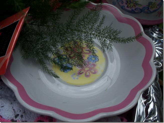 Carnation tea tray 007
