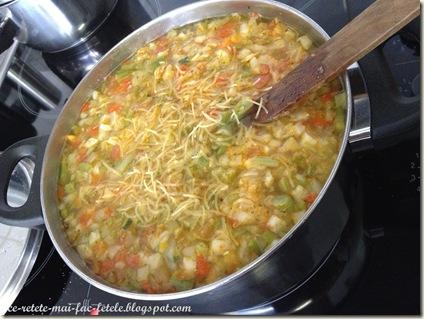 Preparare bors de legume