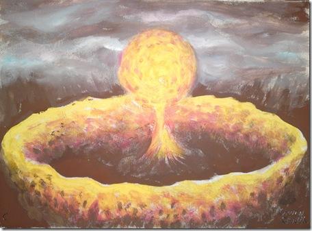 Explozie colosala minge de foc si ciuperca atomica catastrofa din vis