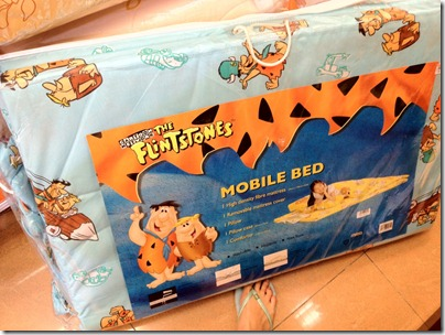 The Flinstones mobile bed