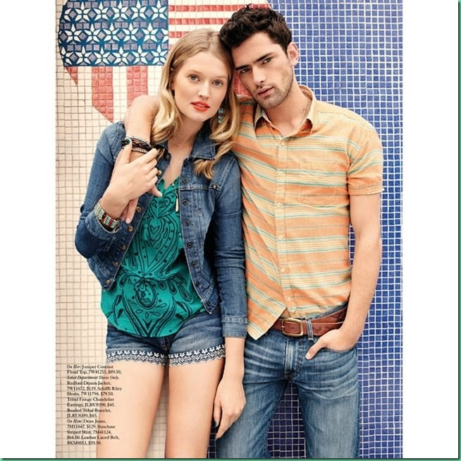 Sean O'Pry for Lucky Brand Summer 2013