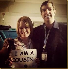 I am a cousin