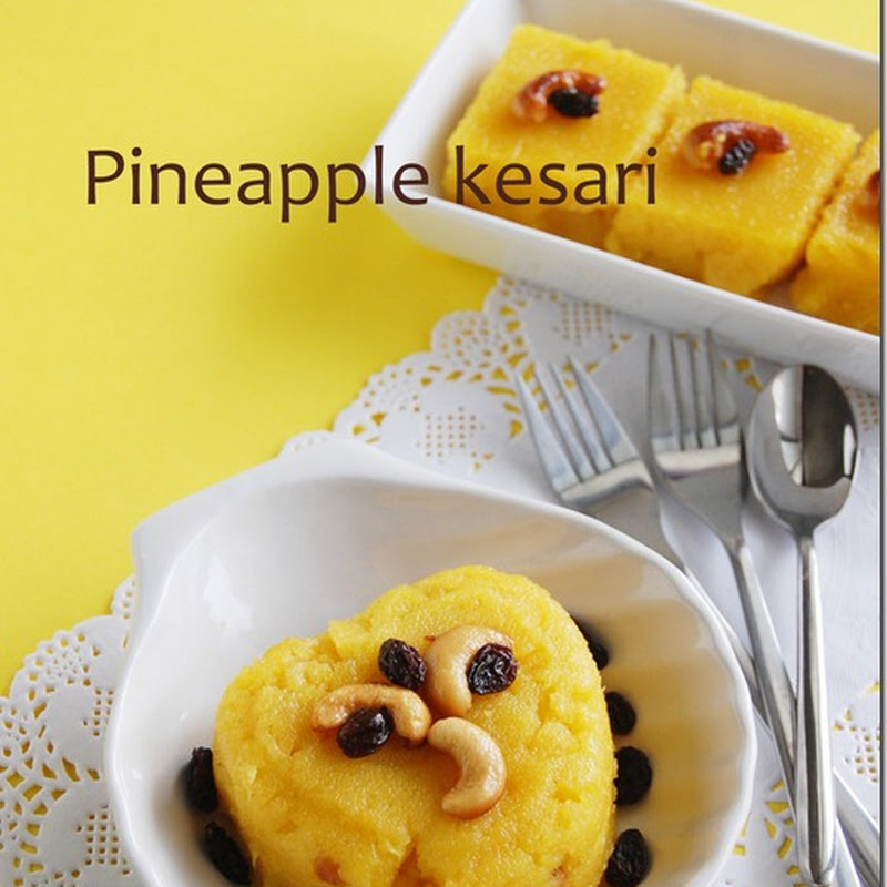 Pineapple kesari