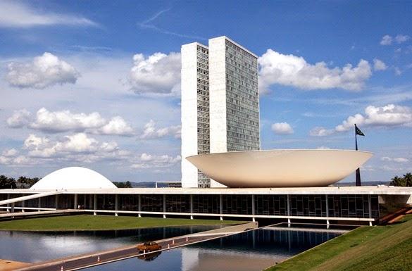 Congresso Nacional - Oscar Niemeyer, Brasilia