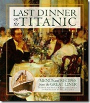 last dinner on the-titanic cookbook