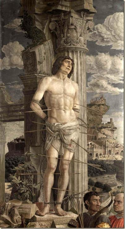 Mantegna, St Sébastien