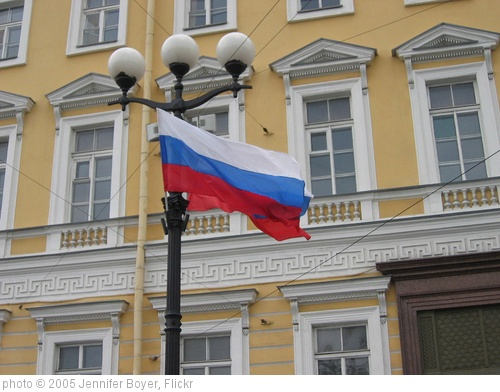 'Russian flag' photo (c) 2005, Jennifer Boyer - license: http://creativecommons.org/licenses/by/2.0/