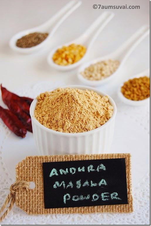 Andhra masala powder pic 1
