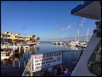 01 - Leaving the marina toward Cay Costa
