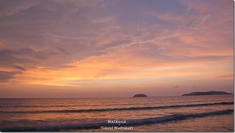沙巴亞庇丹容亞路海灘夕陽 Perdana Park音樂水舞 (14)