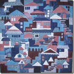 blue happy villages