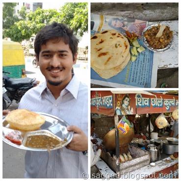 Chole Kulcha, Chole Bhature